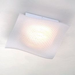 Escale Pulvinus 30 LED-Deckenleuchte 3D-Druck Weiß