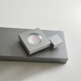 Bopp Flash LED Leuchte aluminium-anthrazit
