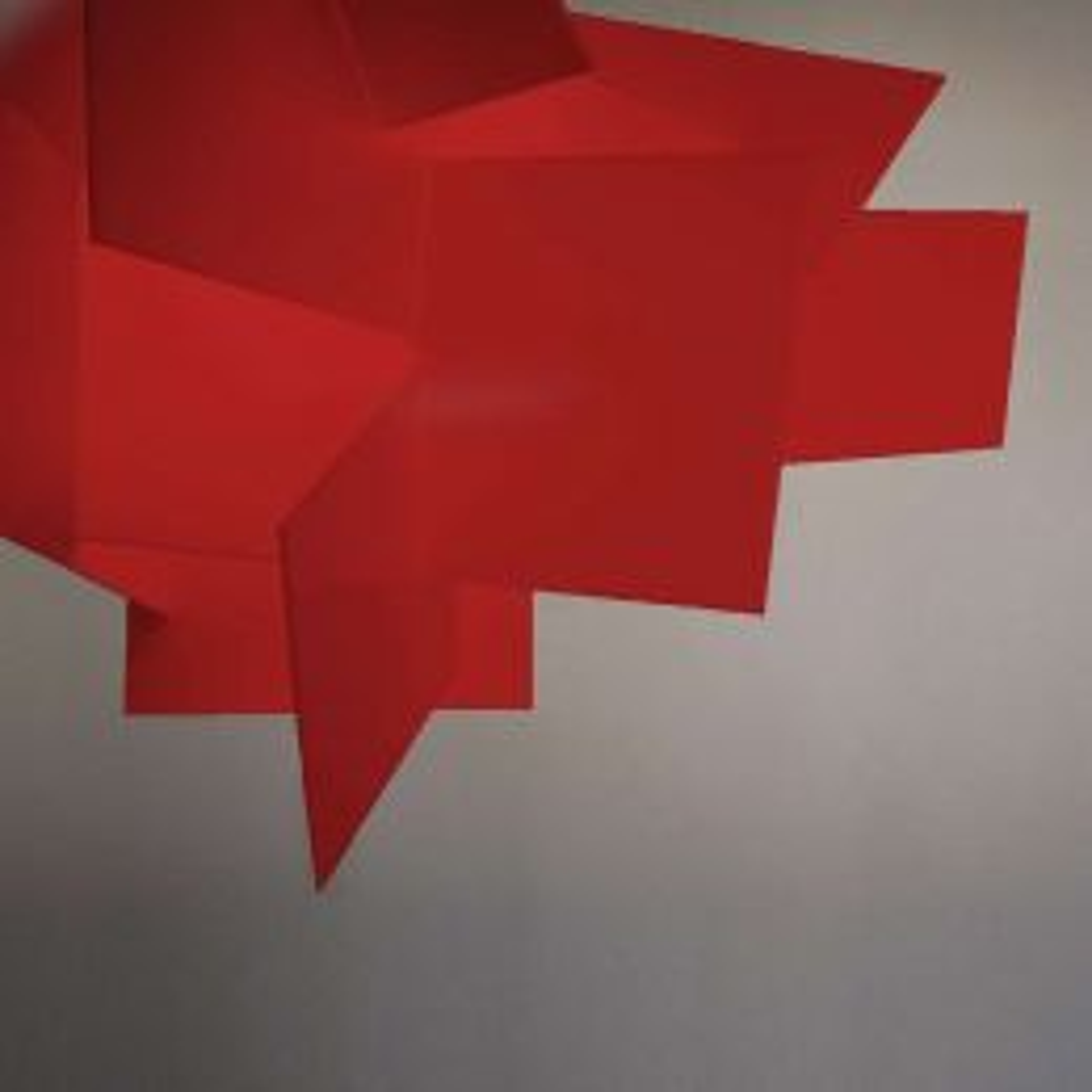 Foscarini Big Bang L Sospensione LED-Pendelleuchte-Rot