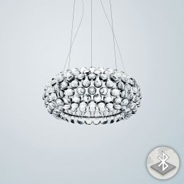 Foscarini Caboche Media MyLight Sospensione LED-Pendelleuchte Transparent