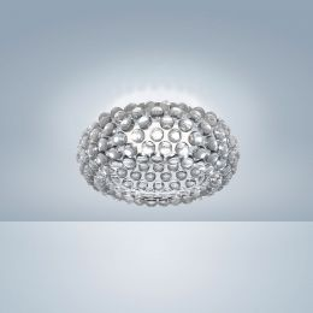 Foscarini Caboche Plus Soffitto LED-Deckenleuchte Transparent