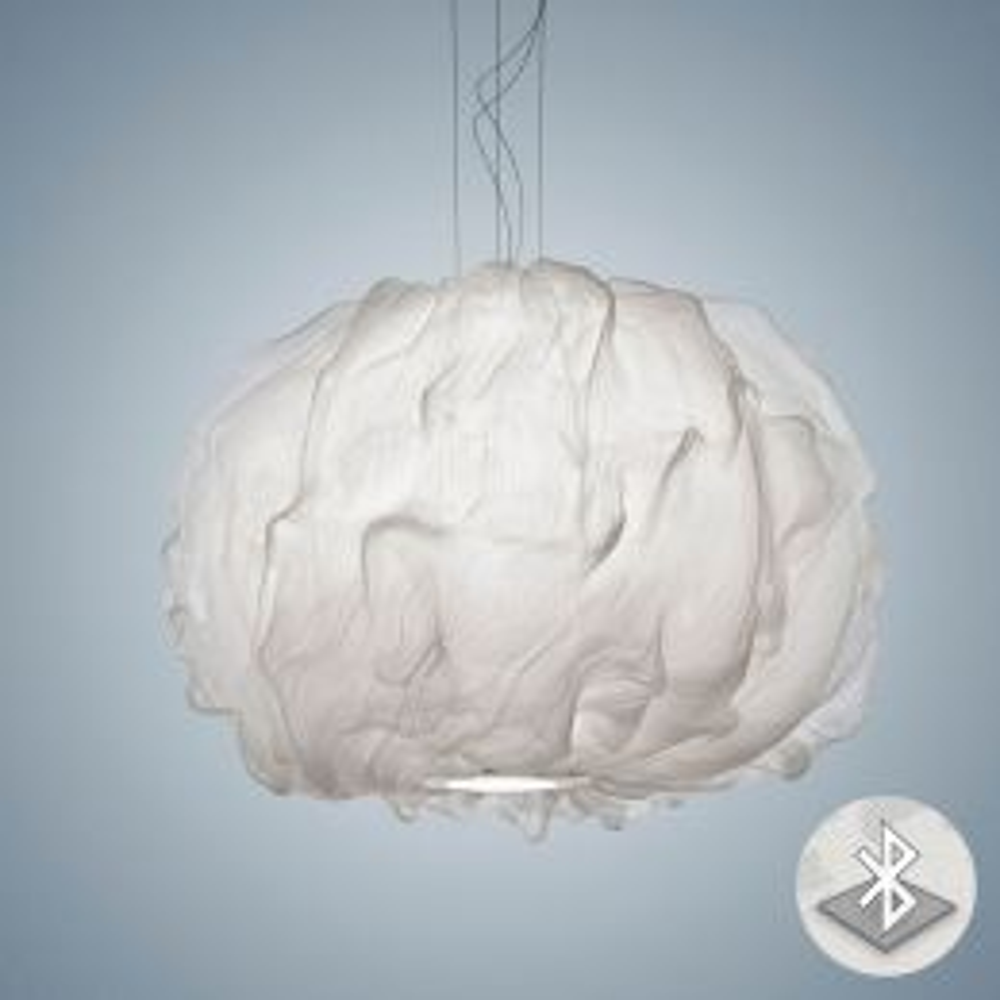 Foscarini Nuée MyLight Sospensione LED-Pendelleuchte Weiß 01