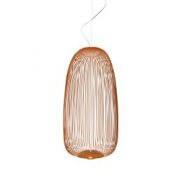 Foscarini Spokes 1 Sospensione LED-Pendelleuchte-Bronze; mit LED (2700K)