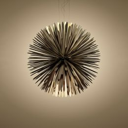 Foscarini Sun-Light of Love LED-Pendelleuchte Gold 01