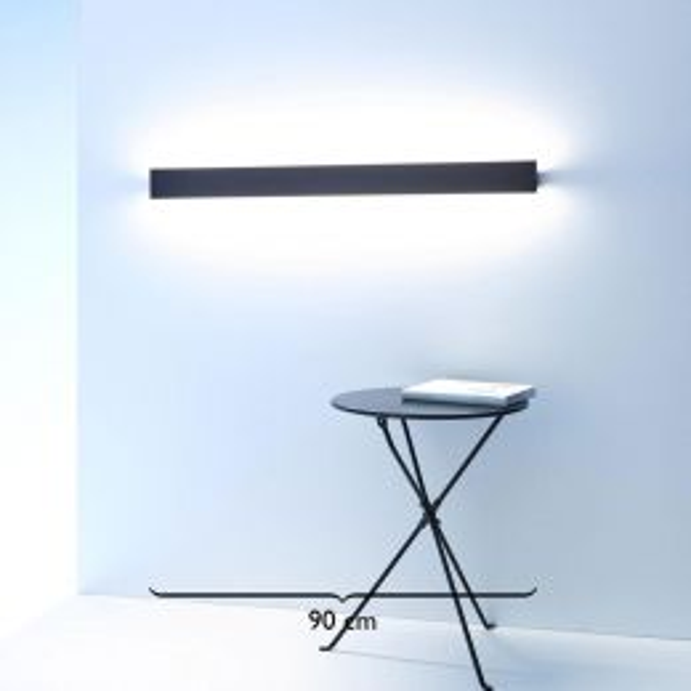 GERA Leuchten Wandleuchte mit Metallblende 900 LED-Wandleuchte
