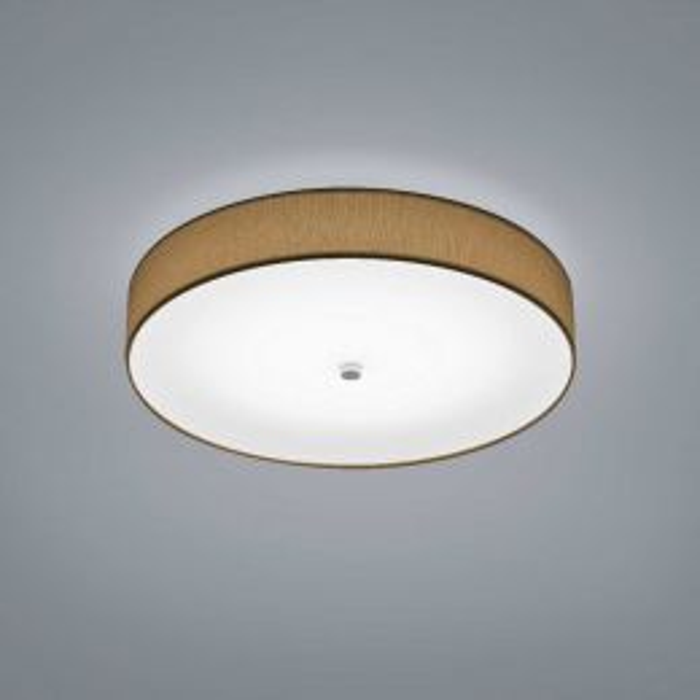 Helestra Bora LED-Deckenleuchte Mokka