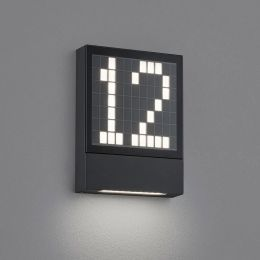 Helestra Dial A28908 LED-Wandleuchte mit Hausnummer 01