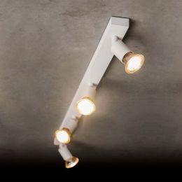 Holtkötter 4504 LED-Deckenstrahler 4-flammig-Weiß