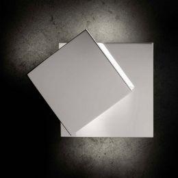 Holtkötter Cubic LED-Wandleuchte Aluminium poliert