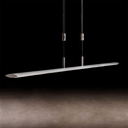 Holtkötter Epsilon P 1150 LED-Pendelleuchte Platin