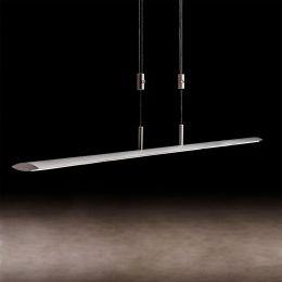 Holtkötter Epsilon P 1500 LED-Pendelleuchte Silbermatt