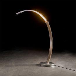 Holtkötter Epsilon T LED-Tischleuchte-Silbermatt-mit LED (2700K)