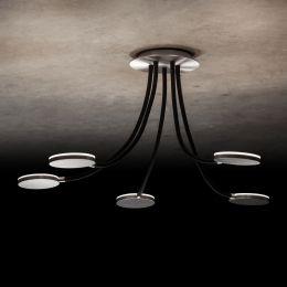 Holtkötter Flex D5 LED-Deckenleuchte 5-flammig