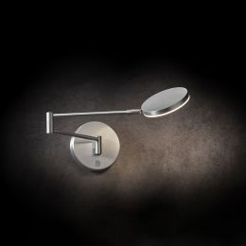 Holtkötter Plano WB LED-Wandleuchte Aluminium matt 01