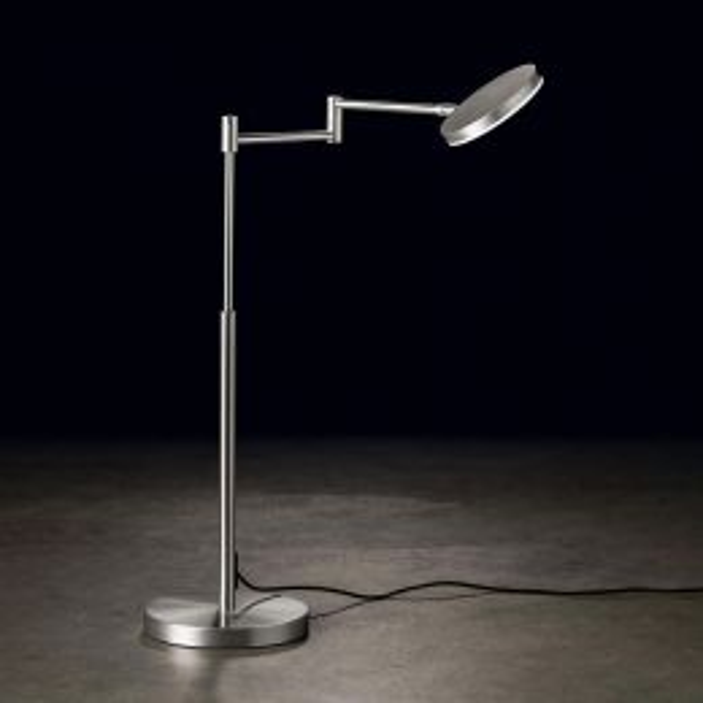 Holtkötter Plano T LED-Tischleuchte Aluminium matt 01