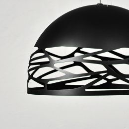 Studio Italia Design Kelly Suspension Large Dome, Pendelleuchte-Schwarz