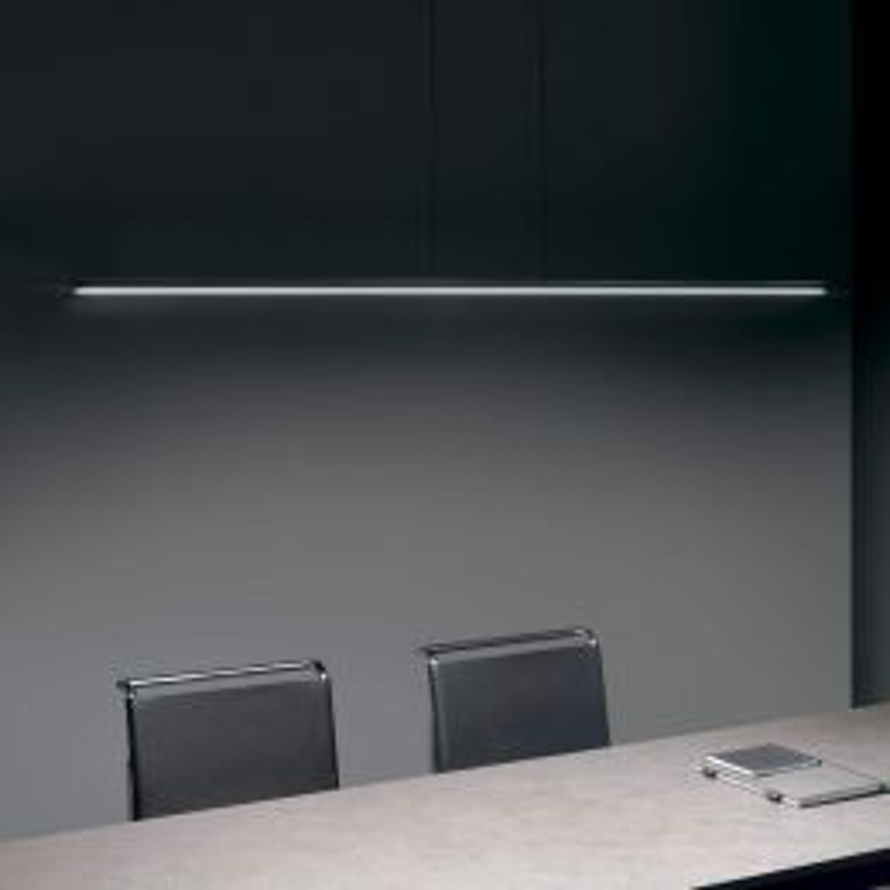 Linea Light Straight_P1 LED-Pendelleuchte-Weiß-mit LED (2700K)
