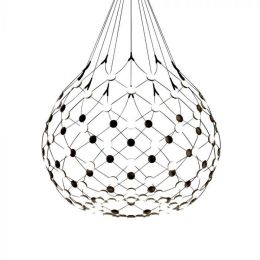 Luceplan Mesh Wireless D86N LED-Pendelleuchte