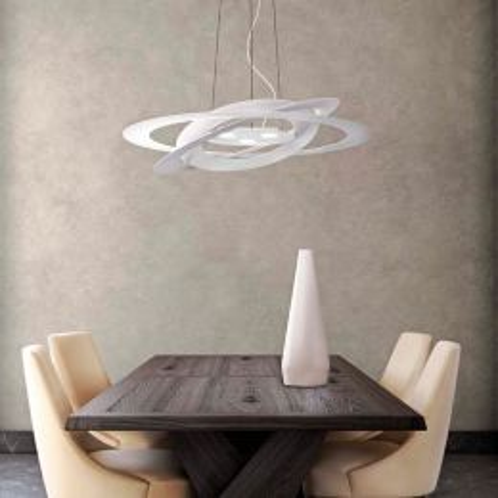 Marchetti Afelio Sospensione S60 LED-Pendelleuchte Weiß