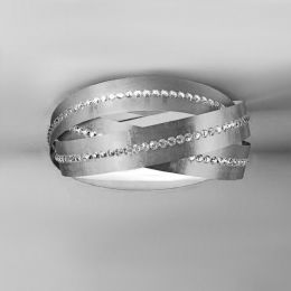 Marchetti Essentia Soffitto PL60 LED-Deckenleuchte Silber