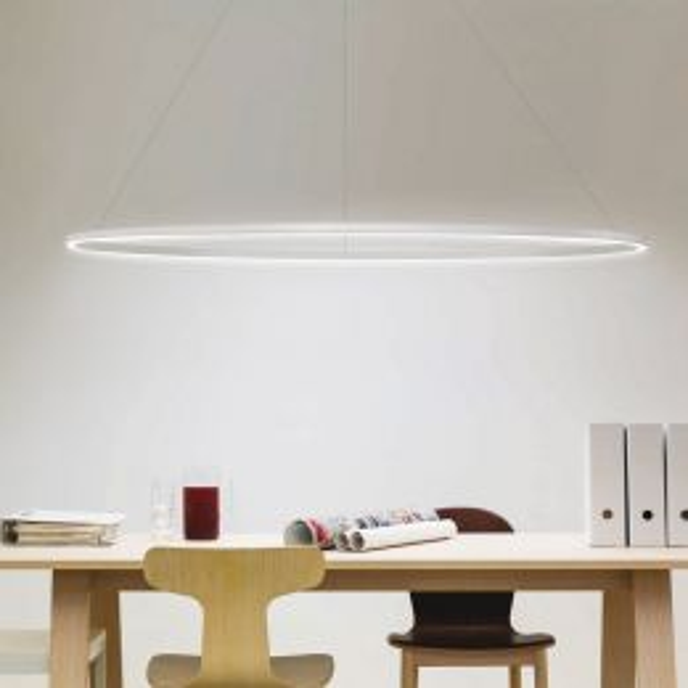 Nemo Ellisse Major Downlight LED-Pendelleuchte-Weiß