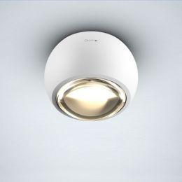 Occhio Io Alto V VOLT LED-Deckenstrahler-Weiß matt; mit LED (3000K)
