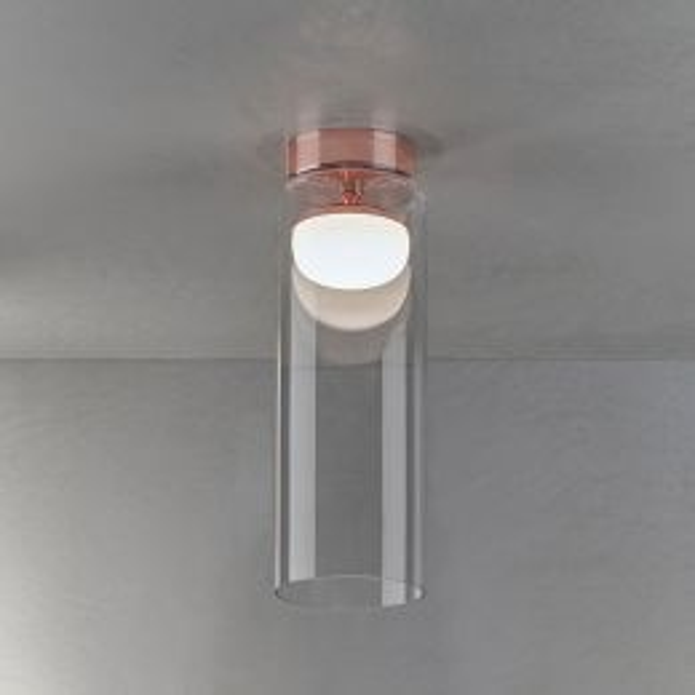 Prandina Diver C5 LED-Deckenleuchte Kupfer