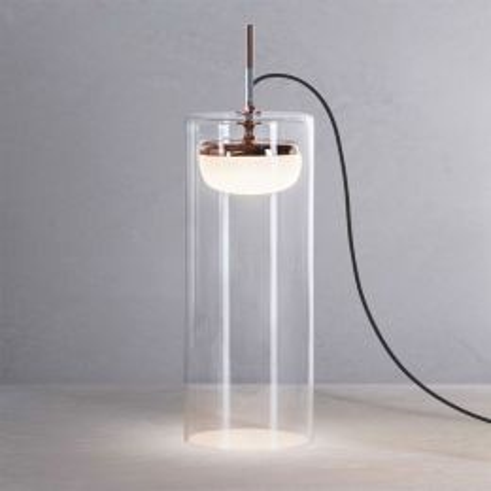 Prandina Diver T5 LED-Tischleuchte Kupfer