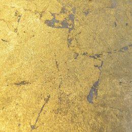 LELO Deckenleuchte Sam Gold-und Silberedition Ø 50 cm Blattgoldoptik