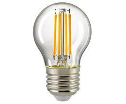 Sigor 4 Watt LED Kugellampe Filament klar dimmbar E27
