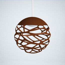Studio Italia Design Kelly Sphere Sospensione LED-Pendelleuchte 1-flammig Bronze