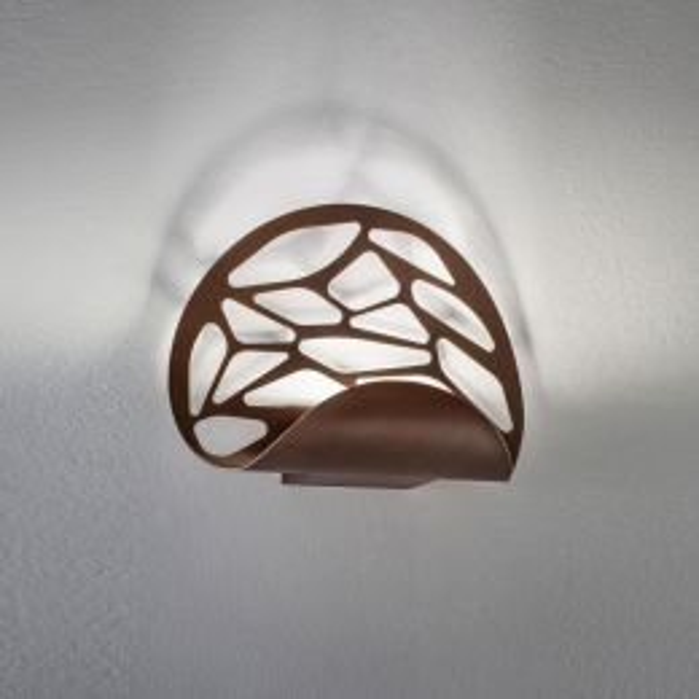 Studio Italia Design Kelly Parete LED-Wandleuchte-Bronze; mit LED (2700K)