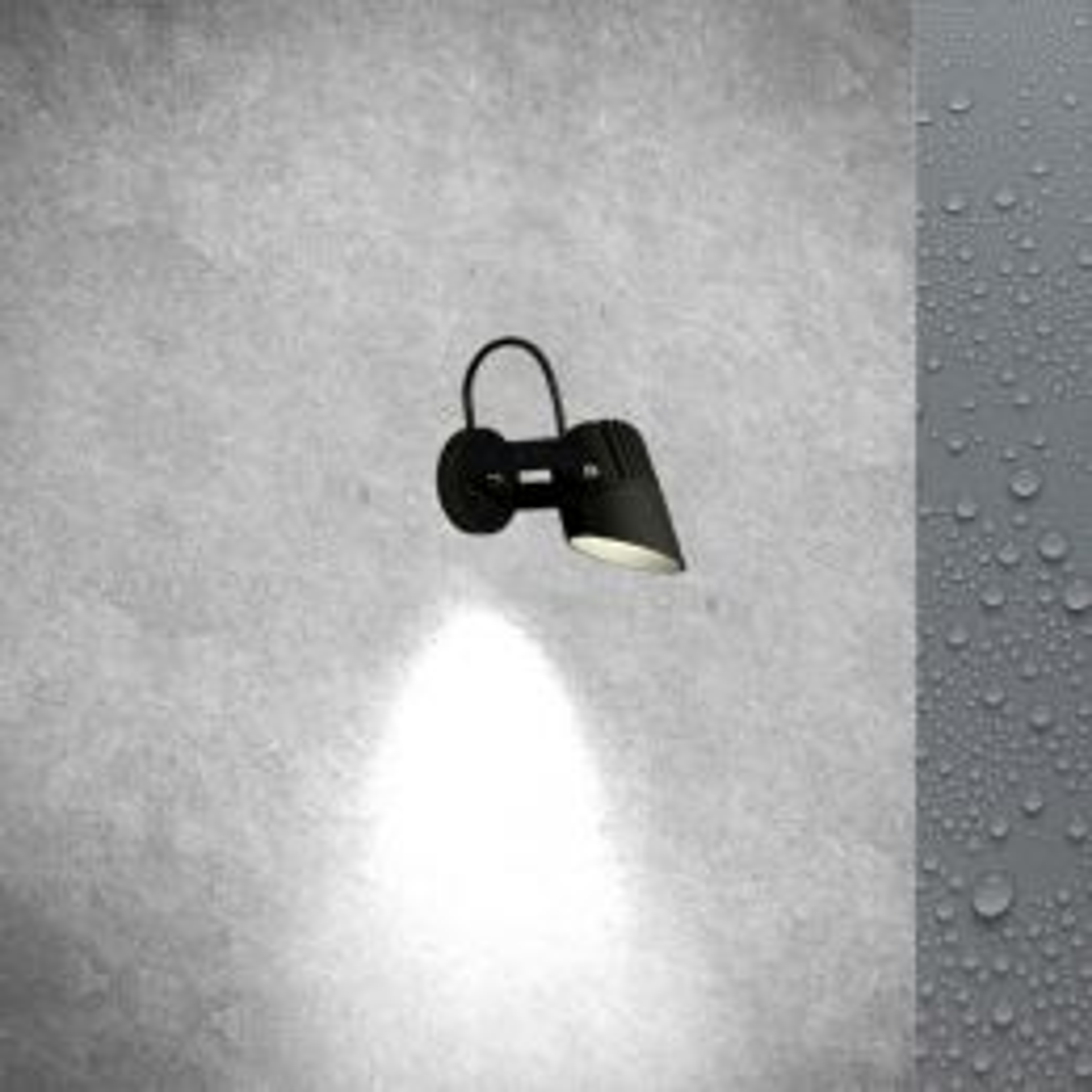 TeamItalia Flip Parete LED-Außenleuchte