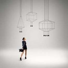Vibia Wireflow 0299 LED Pendelleuchte