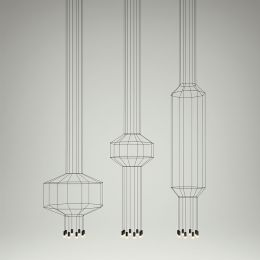 Vibia Wireflow 0300 LED Pendelleuchte