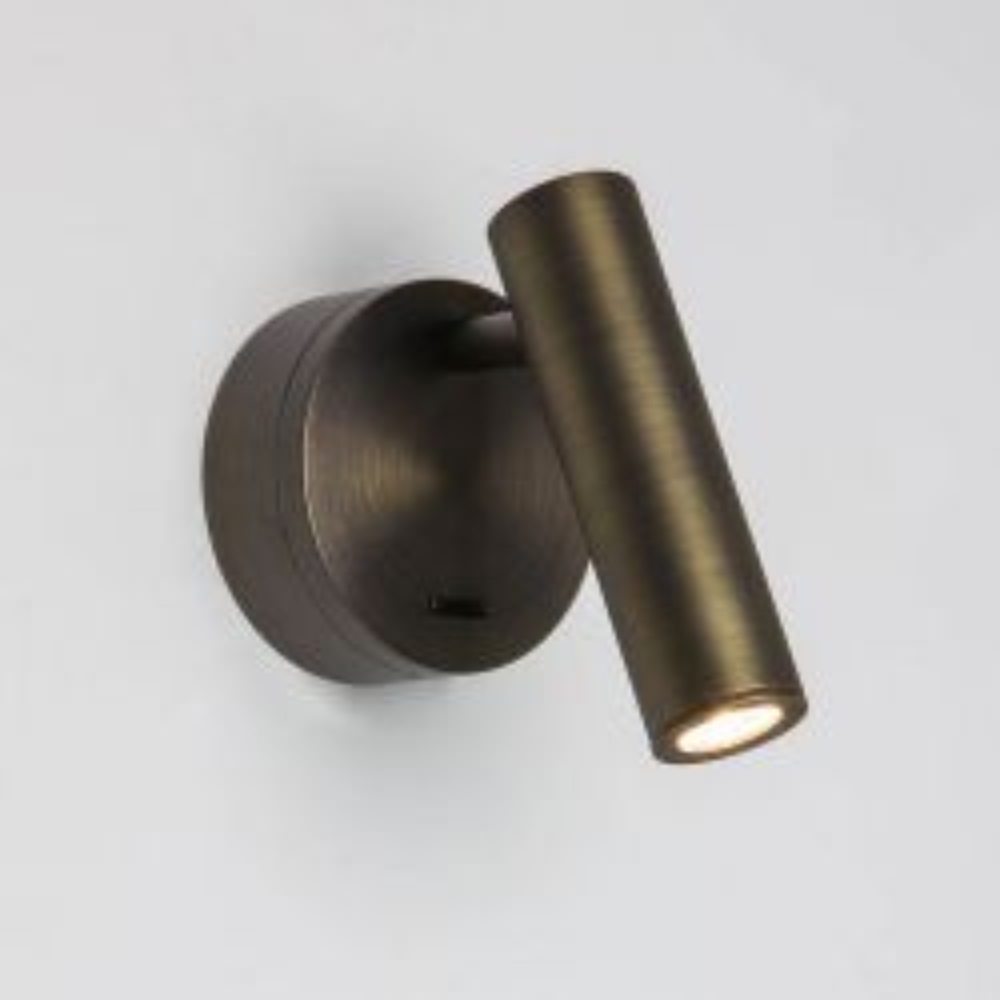 Astro Enna Surface LED-Wandleseleuchte-Bronze-mit LED (2700K)