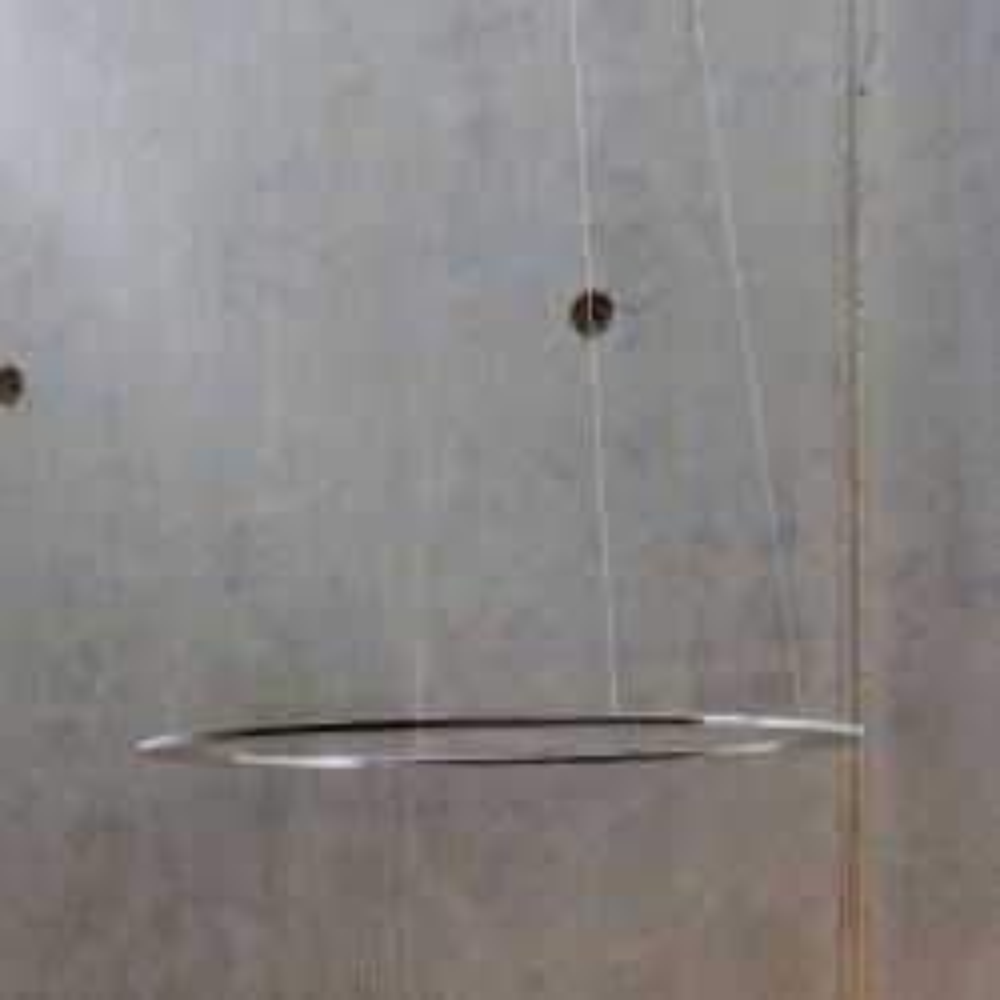 BYOK Piani Rondo 68 Uplight LED-Pendelleuchte-Aluminium poliert-mit LED (2100K - 2700K)