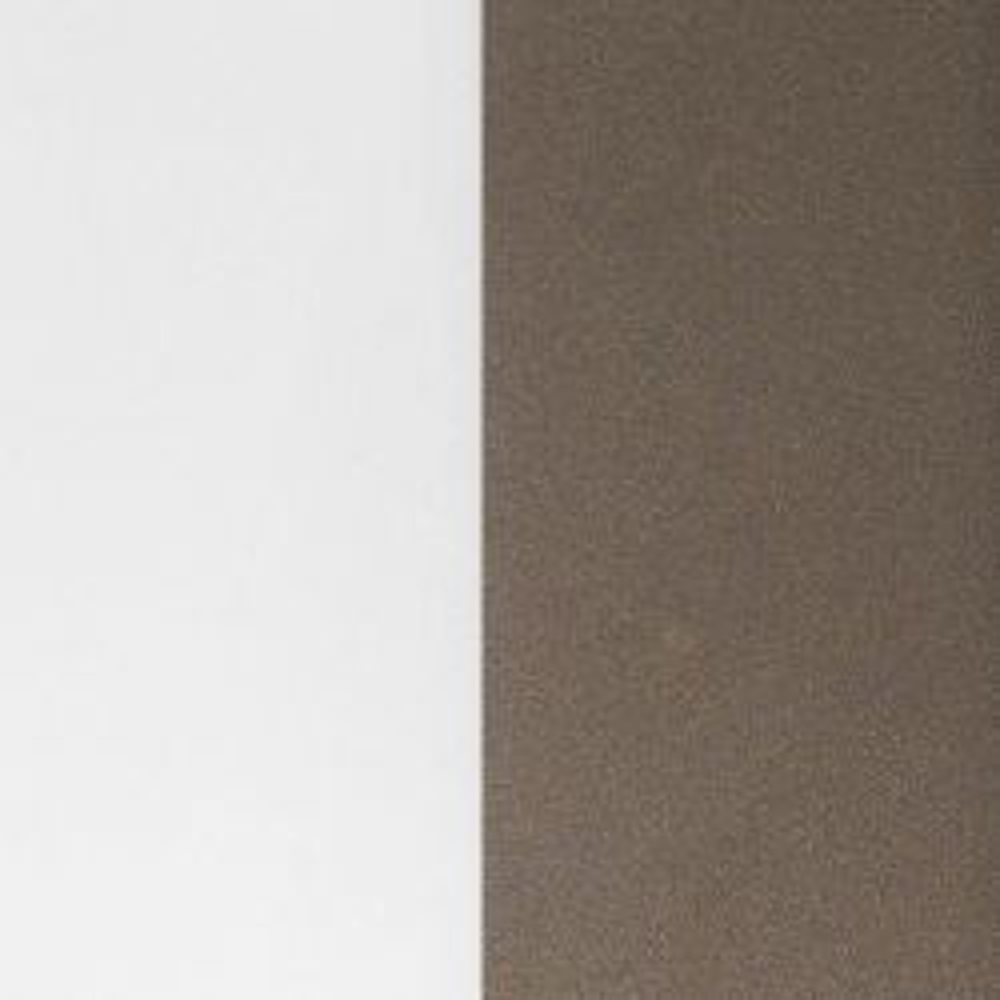 Minitallux Kone 16AP LED-Wandleuchte-Chocolate - Weiß