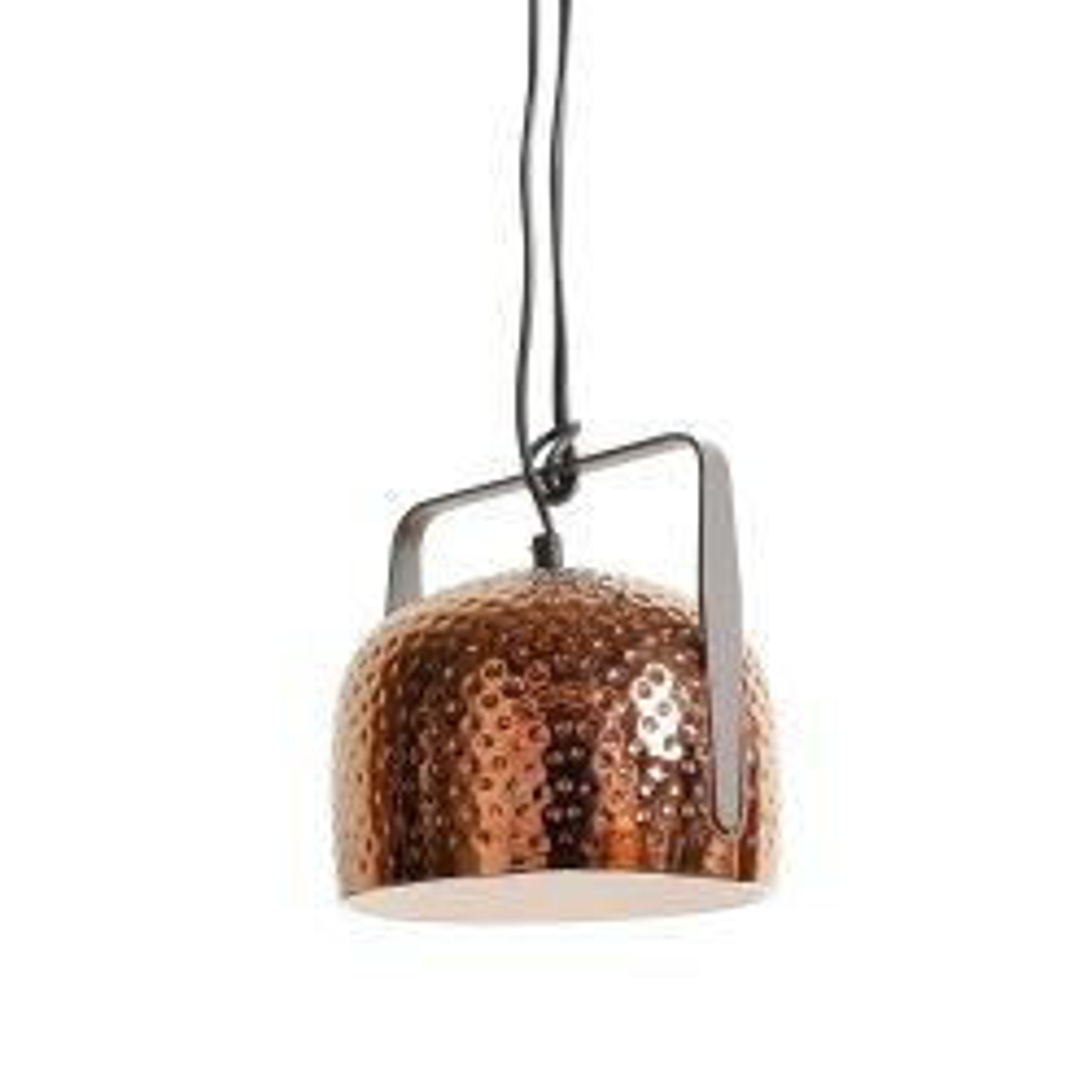 Karman Bag Grande Pendelleuchte-Bronze-Oberfläche texturiert