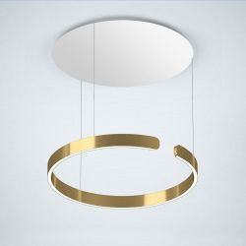 Occhio Mito Sospeso 60 Up LED-Pendelleuchte-Pendel Bronze-Ausführung variabel 50-200 cm-Narrow für Raumbeleuchtung