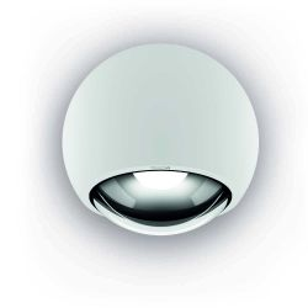 Occhio Sito lato Volt LED Wand-/Deckenleuchte-Weiß matt-Soft S40-mit LED (3000K)