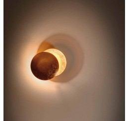 Catellani-Smith LEDERAM W, Ø 17 cm LED-Wandleuchte