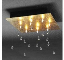 Escale Crystal Rain 10 Deckenleuchte