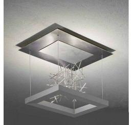Escale Della Luna Skulptur LED-Deckenleuchte