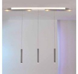 Bopp Leuchten Plus 3-flammig LED-Pendelleuchte