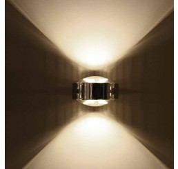 Top Light Puk LED Maxx Wall Linse/Linse, Outdoor