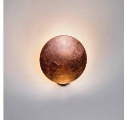 Catellani & Smith Lederam W1 Ø 17 cm LED-Wandleuchte