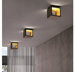 Minitallux Cubo 1.10 LED Wand- und Deckenleuchte