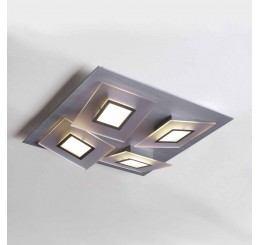 Bopp Leuchten Frame 4-flammig LED-Deckenleuchte quadratisch