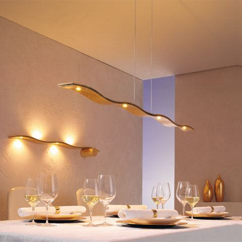 Fluid von Escale - LED Pendelleuchten